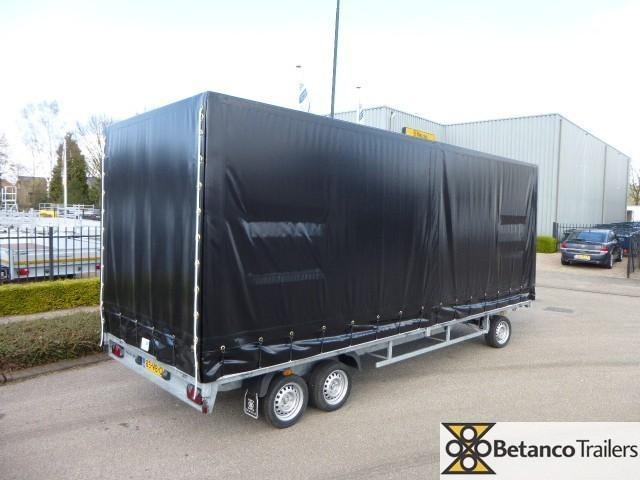 Humbaur met huif - HD 3500 / schamelwagen