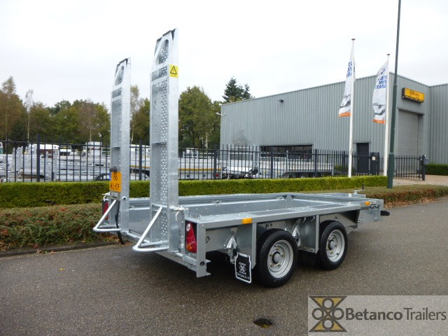 Ifor-Williams machine transporter - GX 105 HD + verlengde skids 183 cm