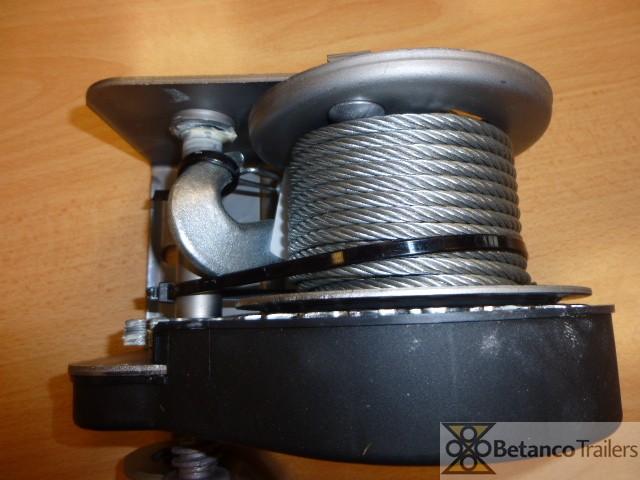 AL handlier 350 kg - handlier geremd met kabel 10 mtr + haak
