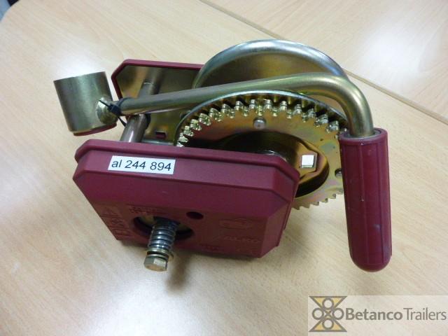 AL handlier 500 kg  - handlier geremd zonder kabel
