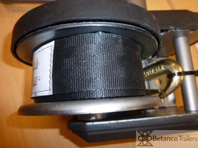AL handlier 500 kg - handlier geremd met band 7 mtr + haak