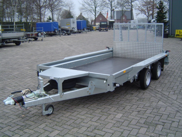 Ifor Williams  - GX 126 Machinetransporter