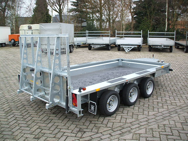Ifor Williams  - GX 126 3 asser
