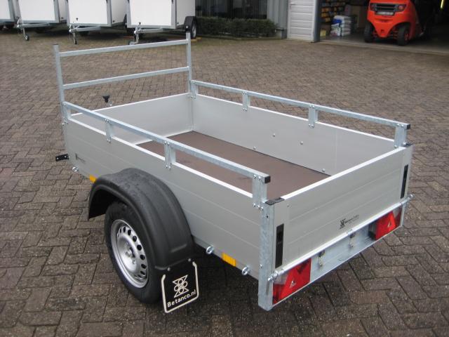 Anssems - GT 500 met reling en voorhek