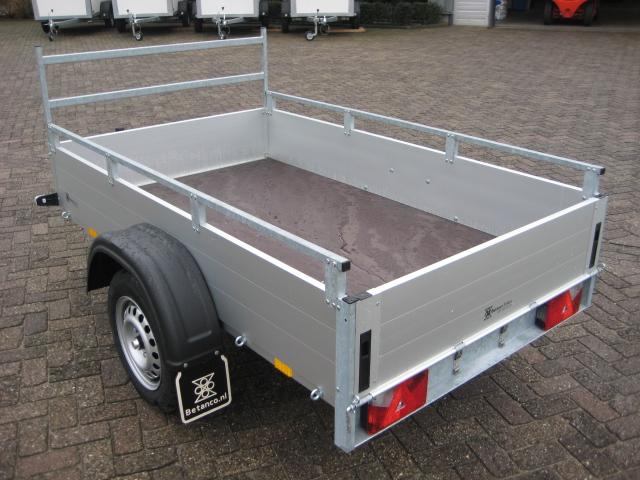 Anssems - GT 750  met reling en voorhek