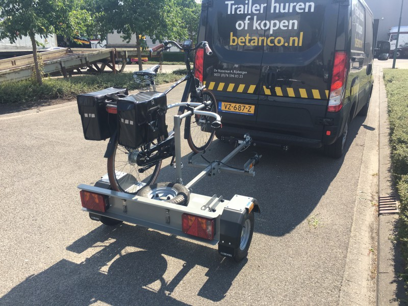 Trailer2Bike  Opklapbare fietsaanhangwagen - Trailer2Bike