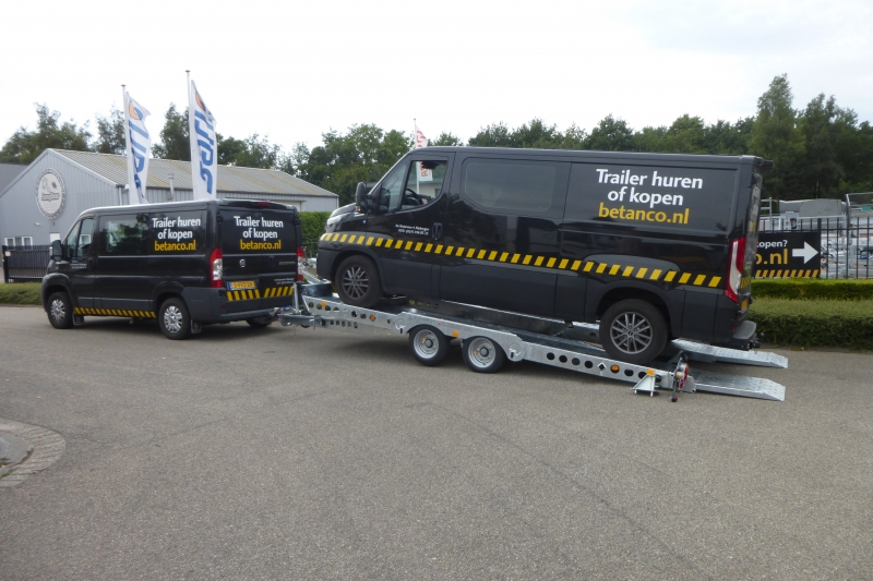 Ifor-Williams  - CT 177 G  kantelbare transporter