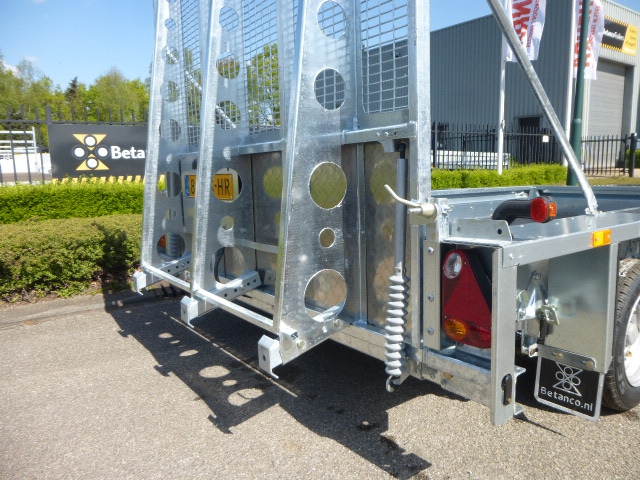 Ifor Williams - GX126HD/3 asser  + klep 183 cm