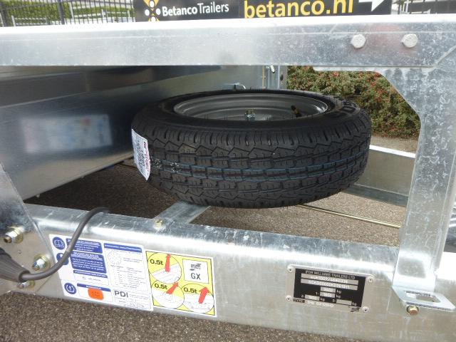 Ifor Williams - GX 125 HD met aluminium tranenplaat vloer