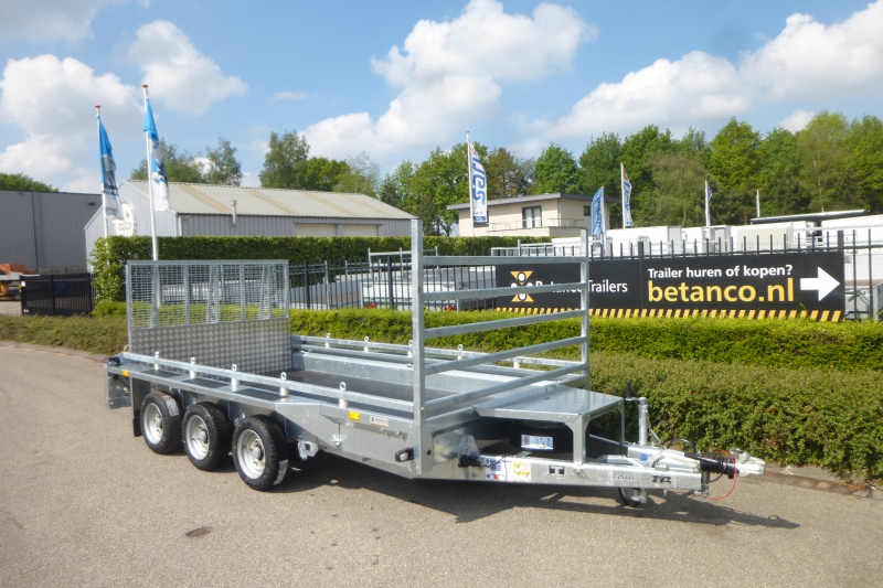 Ifor-Williams GX 126HD /3 transporter
