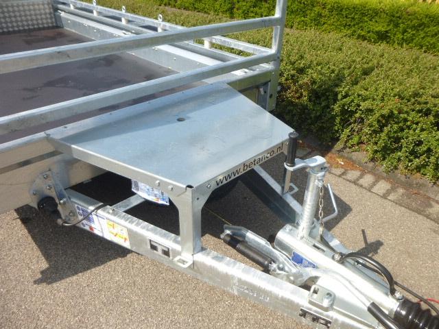 Ifor-Williams tridem - GX 126 HD /3 asser
