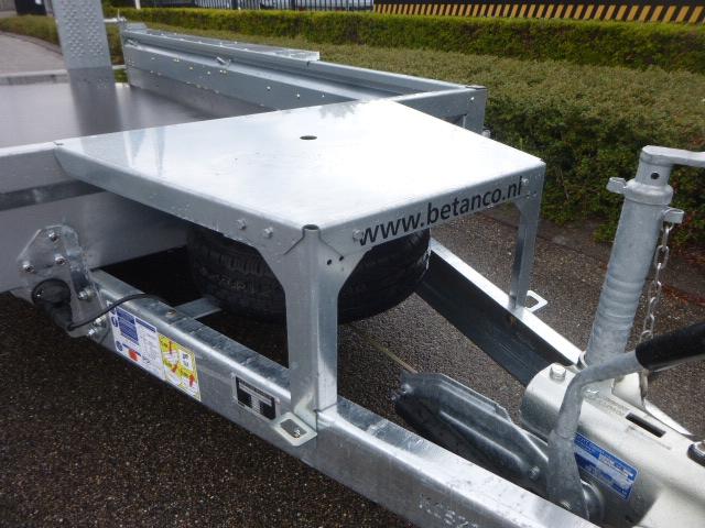 Ifor Williams - GX 125 HD met skids 1.83 mtr